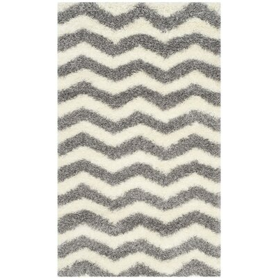 Kimberley Gray/Beige Area Rug Rug Size: Rectangle 67 x 96
