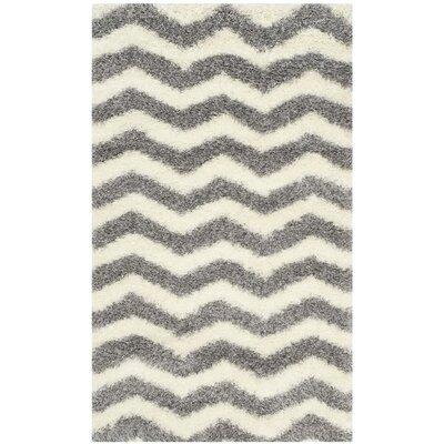 Kimberley Gray/Beige Area Rug Rug Size: 3 x 5