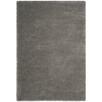 Connor  Gray Area Rug Rug Size: 4 x 6