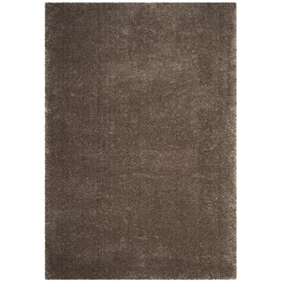 Schmitt Solid Gray Area Rug Rug Size: Rectangle 6 x 9