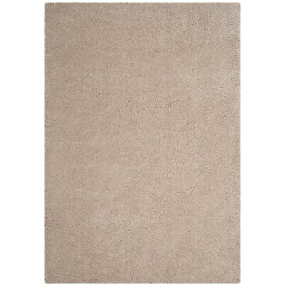 Schmitt Beige Area Rug Rug Size: Rectangle 3 x 5
