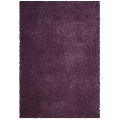 Schmitt Purple Area Rug Rug Size: Rectangle 51 x 76