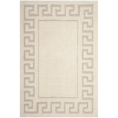 Ertvelde Beige Area Rug Rug Size: Rectangle 51 x 76