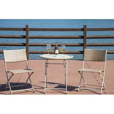 Miguel 3 Piece Bistro Set