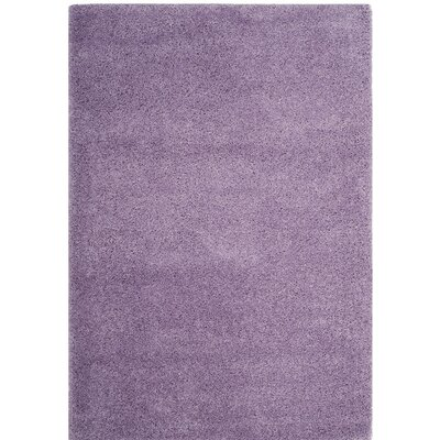 Collin Purple Area Rug Rug Size: 5'3