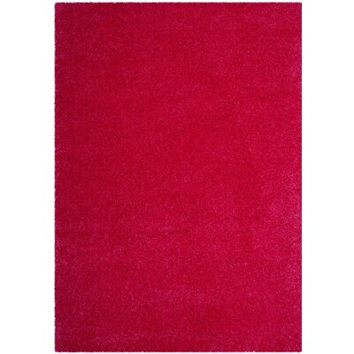 Collete Pink Area Rug Rug Size: 53 x 76