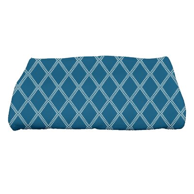 Diamond Dots Bath Towel Color: Teal