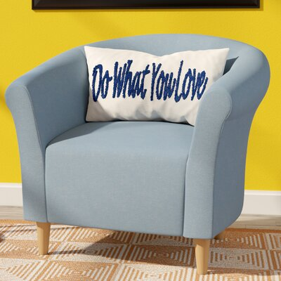 Liam Barrel Chair Upholstery: Twilight Blue