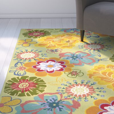 Hayes Moss Indoor/Outdoor Area Rug Rug Size: Runner 2 x 6