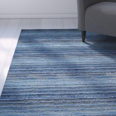 Sherri Blue Area Rug Rug Size: Square 6