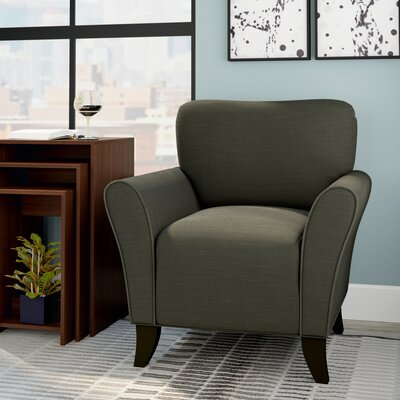 Milo Arm Chair Upholstery: Gray