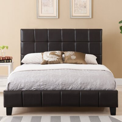 Arianna Upholstered Platform Bed Size: King