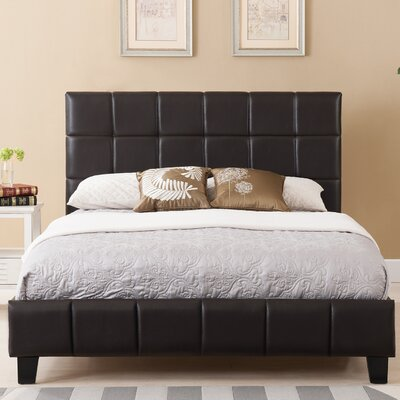 Arianna Upholstered Platform Bed Size: Queen