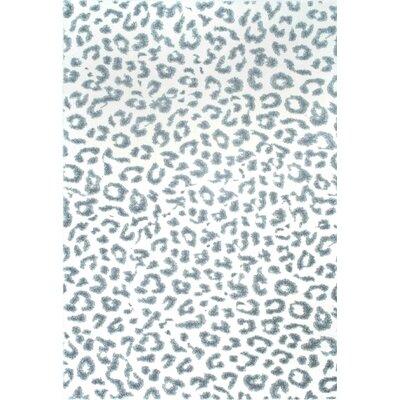 Ruiz Gray Area Rug Rug Size: Rectangle 4 x 6