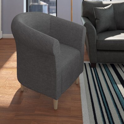 Liam Barrel Chair Upholstery: Graphite