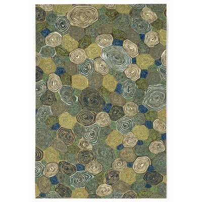 Janell Swirls Indoor/Outdoor Rug Rug Size: 5 x 8