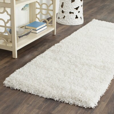 Enrique White Area Rug