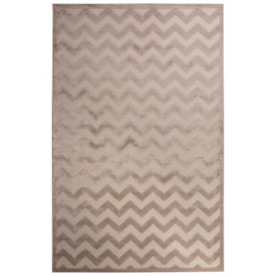 Horton Bright White/Moonlight Area Rug Rug Size: Rectangle 76 x 96
