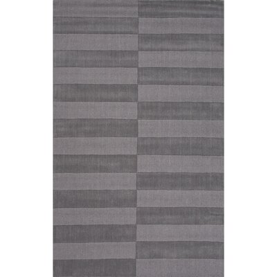 Heather Wool Solids/Handloom Neutral Gray Area Rug Rug Size: 2 x 3