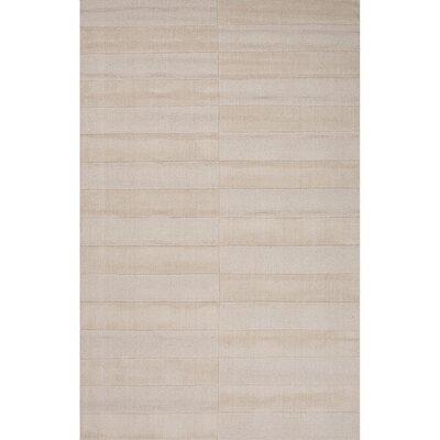 Dekalb Wool Solids/Handloom Ivory Area Rug Rug Size: 2 x 3