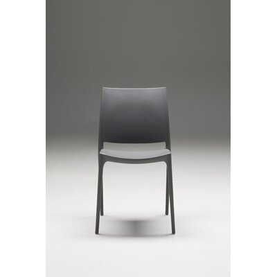 Mira Side Chair (Set of 4) Upholstery: Grey