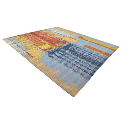 Camdyn Blue/Red Indoor/ Outdoor Area Rug Rug Size: Rectangle 10 x 12