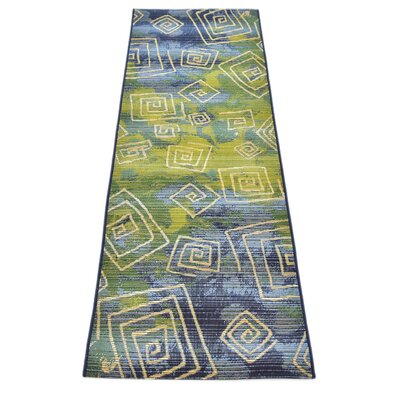 Ivy Blue Indoor/Outdoor Area Rug Rug Size: Runner 2 x 6