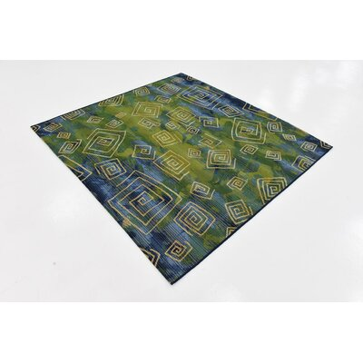 Ivy Blue Indoor/Outdoor Area Rug Rug Size: Square 6