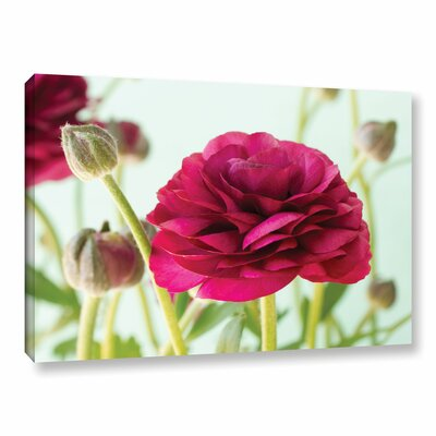 'Blooming' Photographic Print on Wrapped Canvas Size: 12