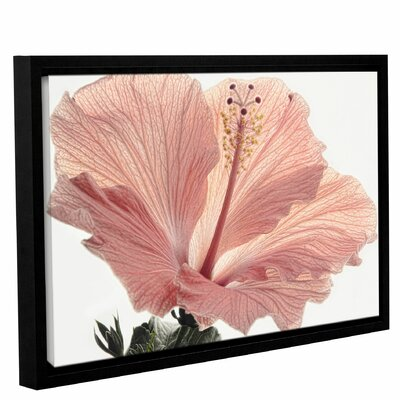'Inviting' Framed Graphic Art on Wrapped Canvas Size: 12