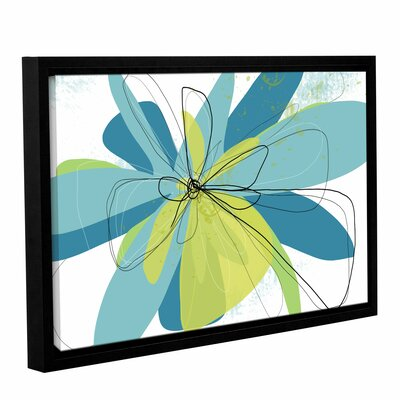 'Citron Tango' Framed Graphic Art Size: 12