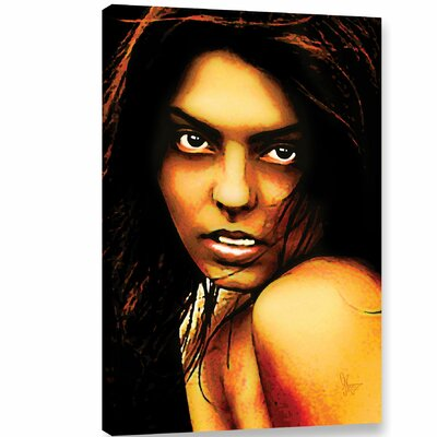 'Kody' Graphic Art on Wrapped Canvas Size: 12