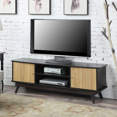Barnard 60 TV Stand Color: Light Oak