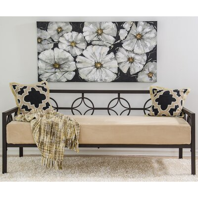 Tyra Daybed Finish: Deep Bronze, Size: Sofa Depth