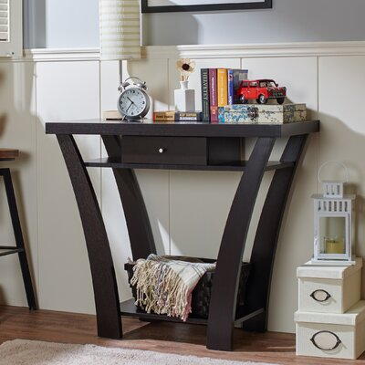 Jamal Console Table Finish: Black