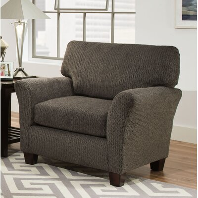 Madelyn Arm Chair Color: Fifth Avenue Charcoal