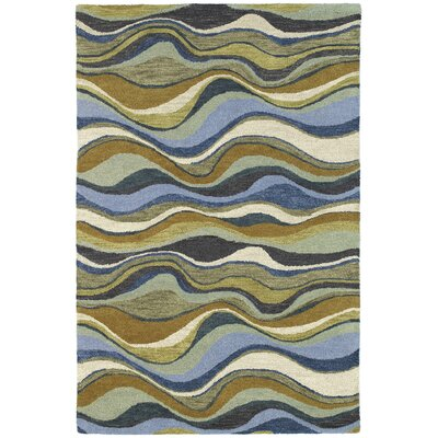 Dodge Blue Alder Area Rug Rug Size: Rectangle 76 x 9