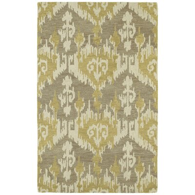 Dodge Hand-Tufted Taupe/Oatmeal/Brownish Yellow Area Rug Rug Size: Rectangle 5 x 76