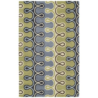 Dodge Blue Area Rug Rug Size: Rectangle 2 x 3