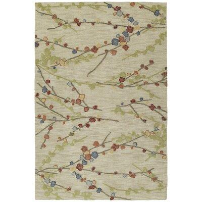 Allensville Hand-Tufted Homage Linen Area Rug Rug Size: 5 x 76