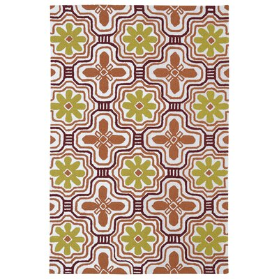 Bette Tangerine Indoor/Outdoor Area Rug Rug Size: Rectangle 76 x 9