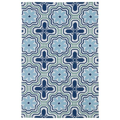 Bette Blue Indoor/Outdoor Rug I Rug Size: Rectangle 3 x 5
