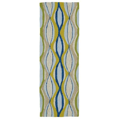 Alliston Hand-Tufted Indoor/Outdoor Area Rug II Rug Size: Runner 2 x 6