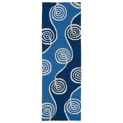 Susana Blue Indoor/Outdoor Area Rug Rug Size: Runner 2 x 6