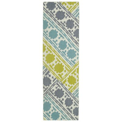 Dolton Flat Woven Geometric Area Rug Rug Size: Runner 26 x 8