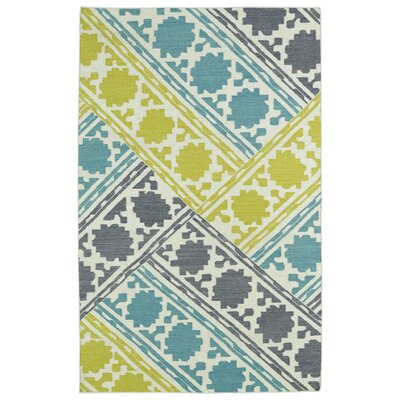 Dolton Flat Woven Geometric Area Rug Rug Size: Rectangle 5 x 8