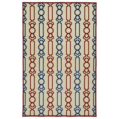 Almond Creek Red Indoor/Outdoor Area Rug Rug Size: Runner 26 x 710