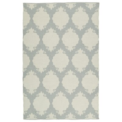 Dominic Tufted Gray/Cream Indoor/Outdoor Area Rug Rug Size: 2 x 3