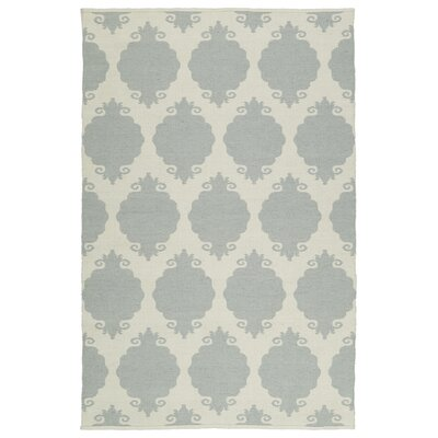 Dominic Cream/Gray Indoor/Outdoor Area Rug Rug Size: 2 x 3