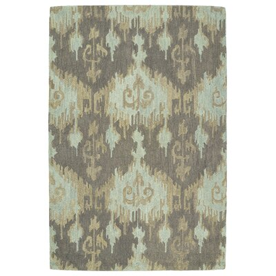Dodge Mint Chevron Area Rug Rug Size: 8 x 11